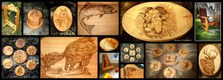 WOODWORK & PYROGRAPHY