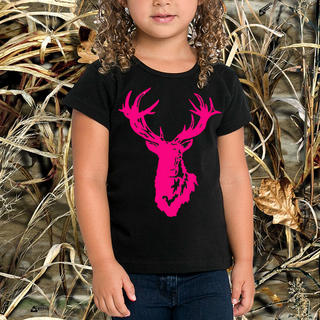 GIRLS TROPHY STAG SHORT SLEEVED TEE, LONG SLEEVED TEE OR SINGLET