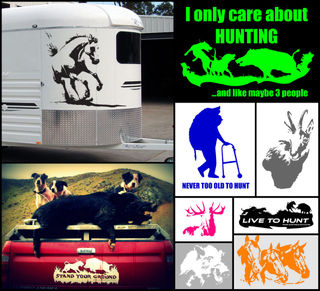 VINYL DECALS / STICKERS