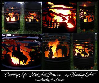 COUNTRY LIFE BRAZIER