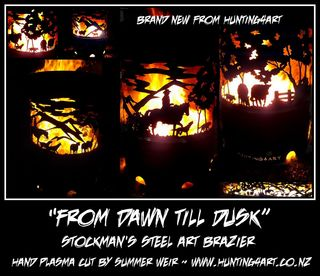FROM DAWN TILL DUSK BRAZIER