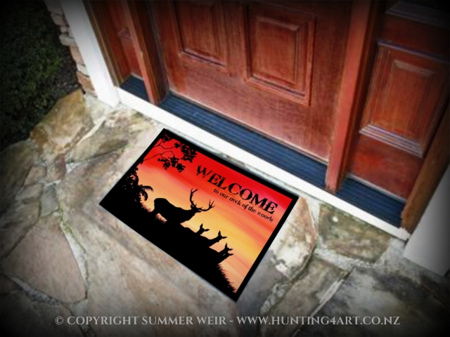 ~ HUNTING4ART DOORMATS ~       CLICK HERE!